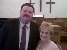 Pastor and Mrs. Button